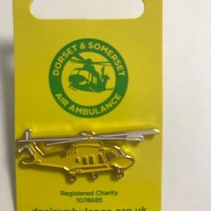 AW169 Helicopter Pin Badge