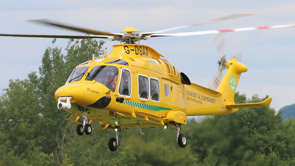 Delivering pre-hospital critical care and rapid carriage of patients to hospital by air